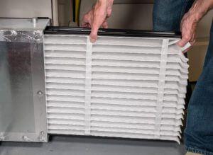 Clean furnace filter