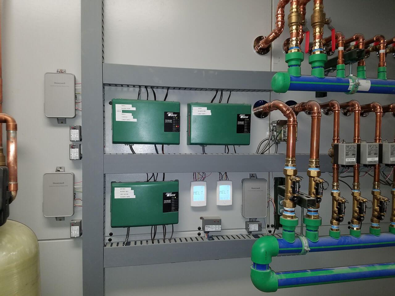 Big Sky Private Residence – Boiler Controls