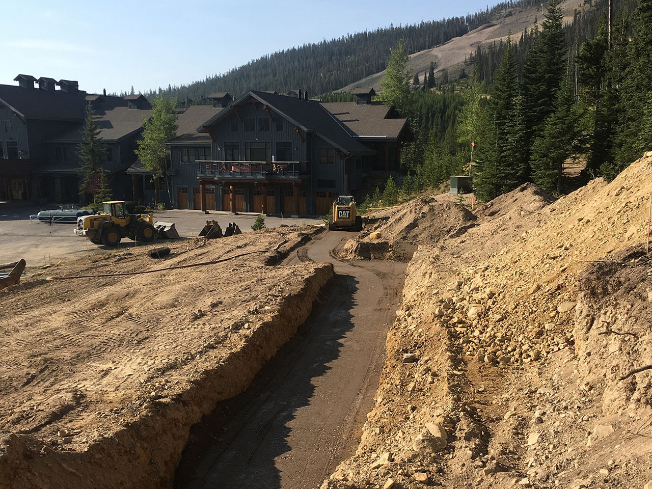 Big Sky Townhomes Excavation
