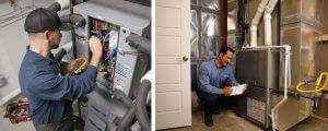 difference between boilers and furnace