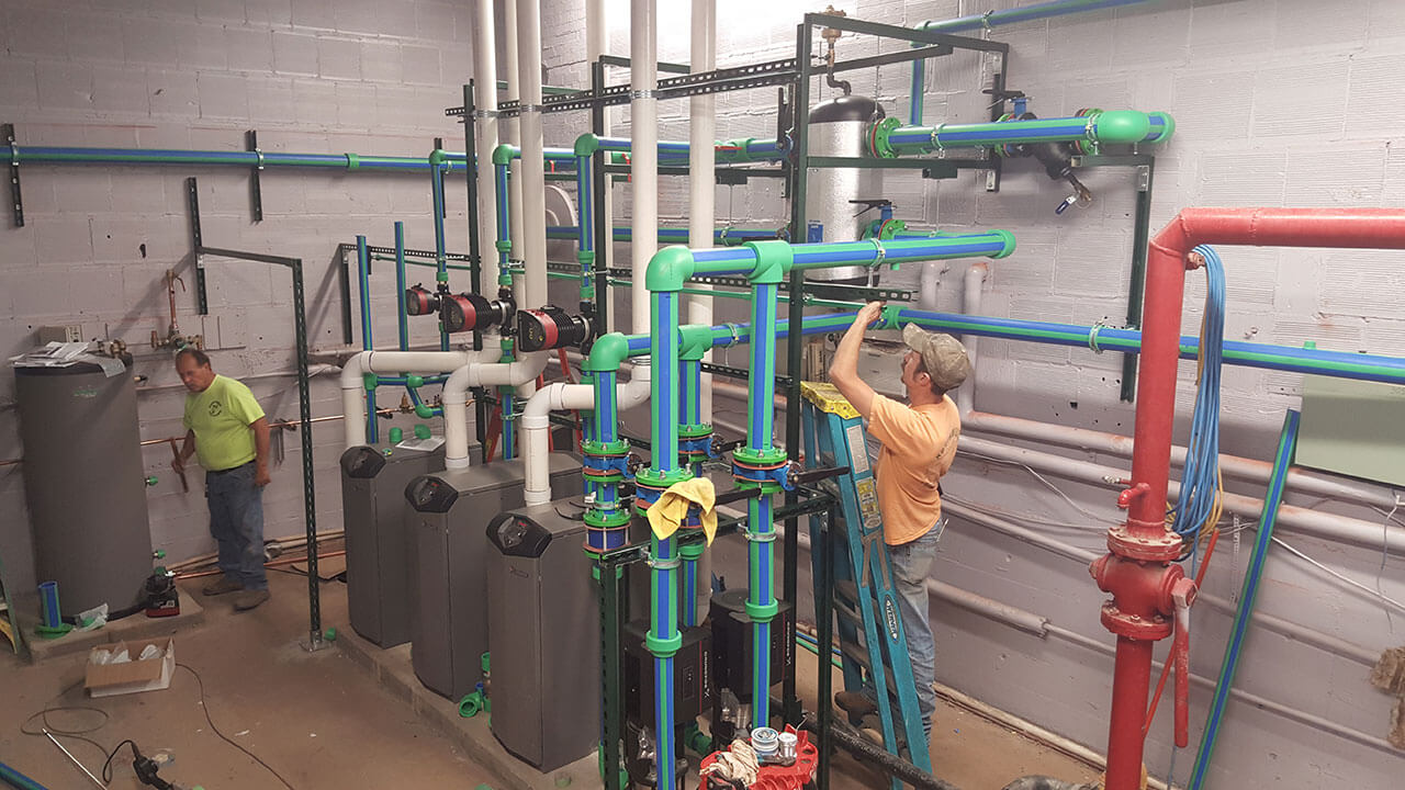 Bozeman – Commercial Boiler System