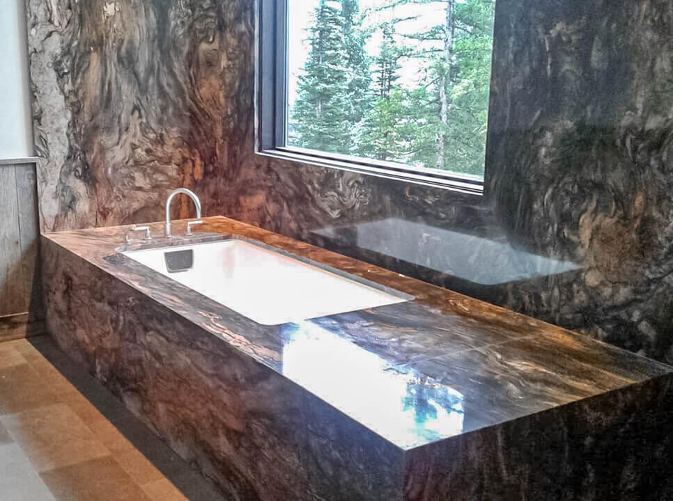 Custom Granite Tub
