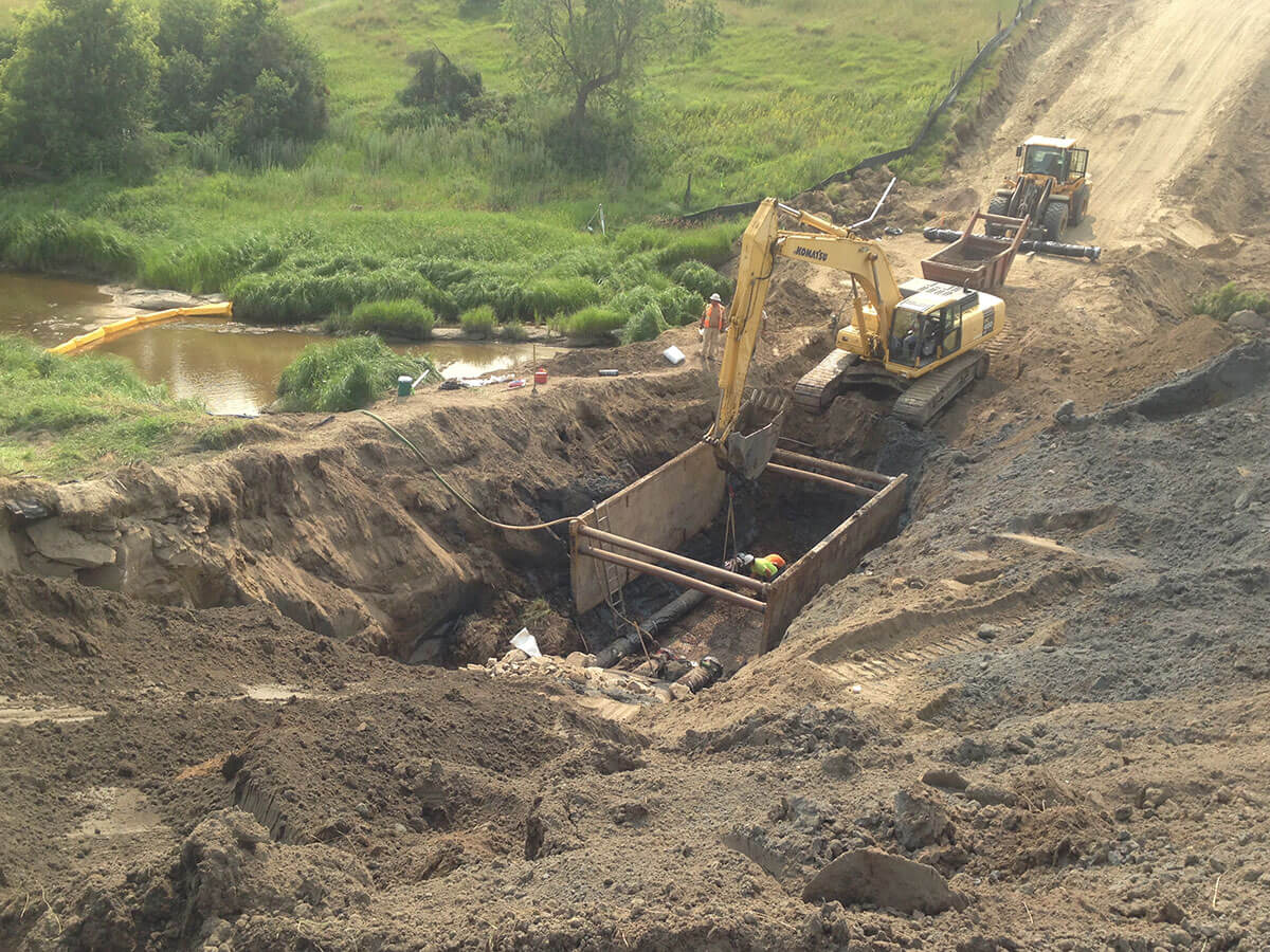 Dickinson, ND – Heart River Crossing Excavation