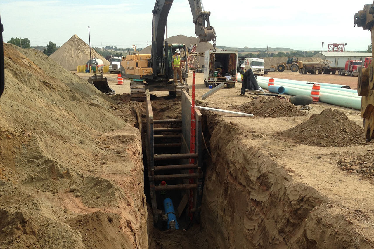 Dickinson, ND – Trench