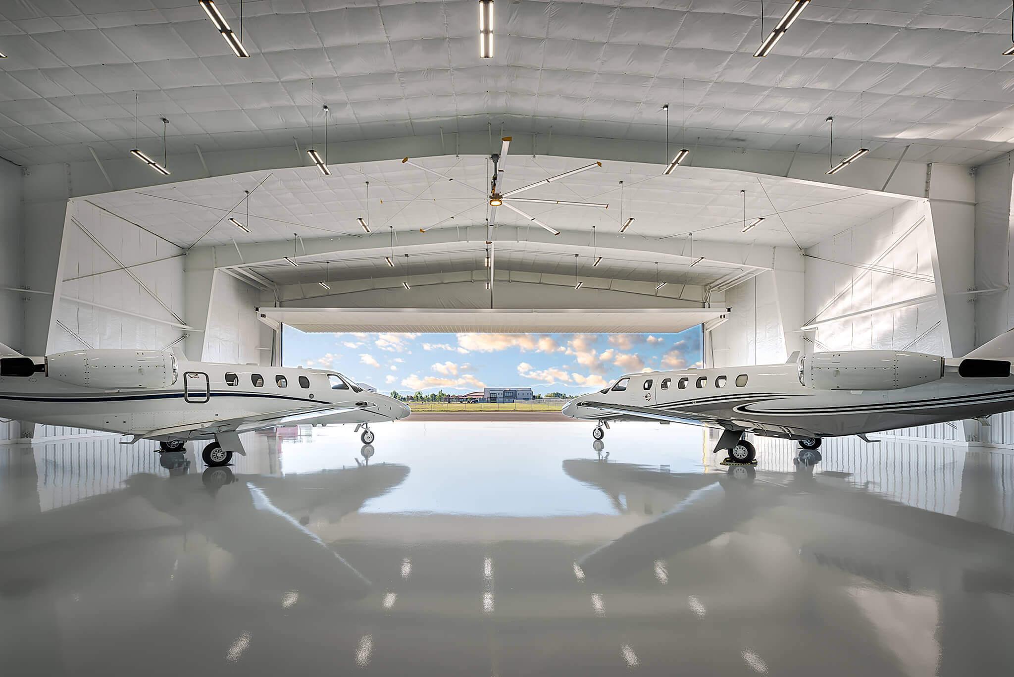 Cloud Nine Airport Hangars