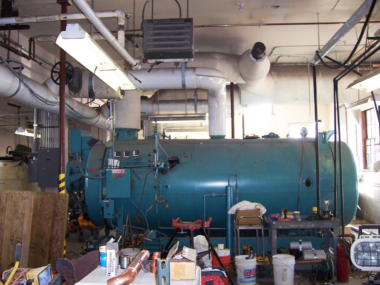 Old Faithful Steam Boiler