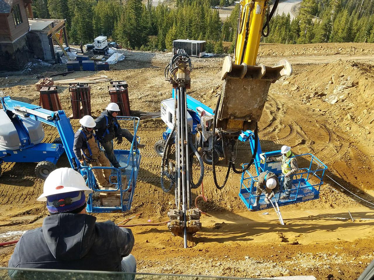 Site Slope Stabilization