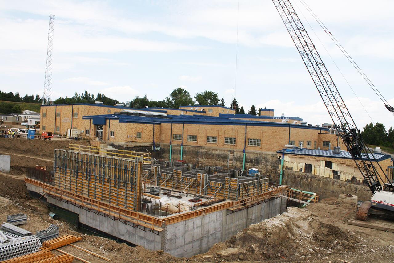 Williston Water Treatment Plant